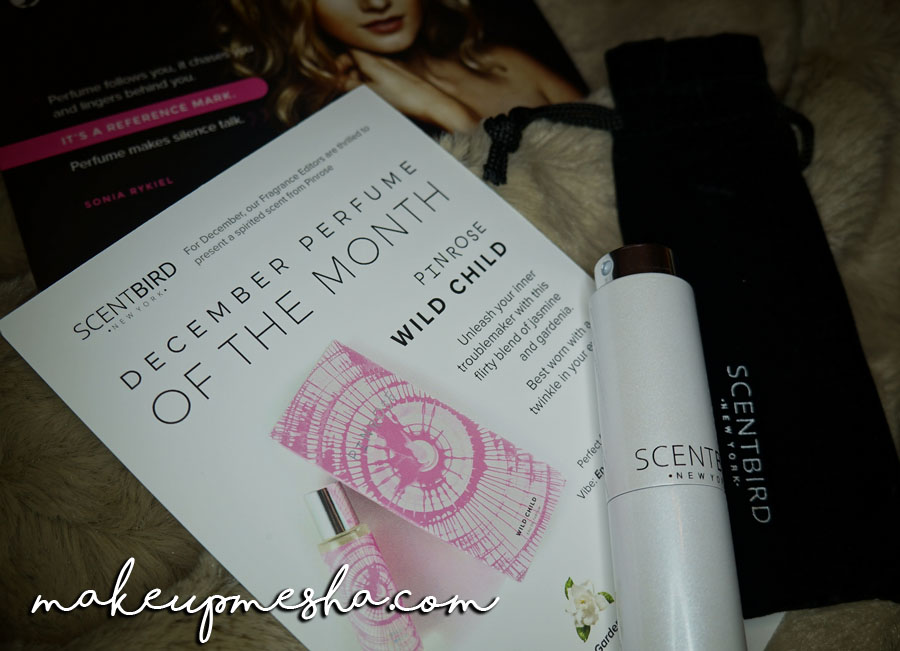 Scentbird Pinrose Wild Child December S Perfume Of The