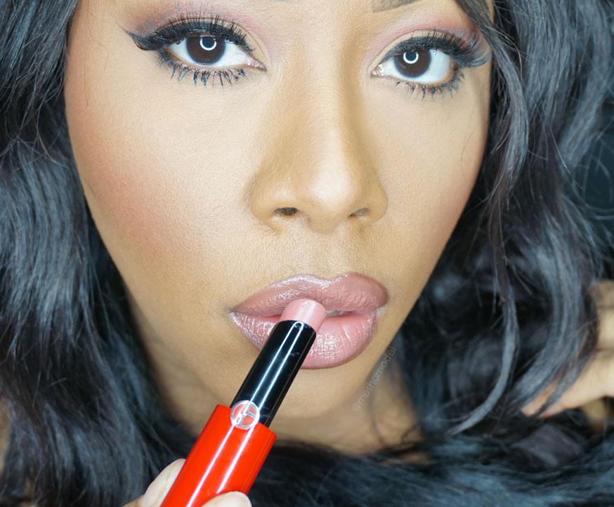 armani beauty giorgio armani hydrating high shine lipsticks makeup by mesha. Black Bedroom Furniture Sets. Home Design Ideas