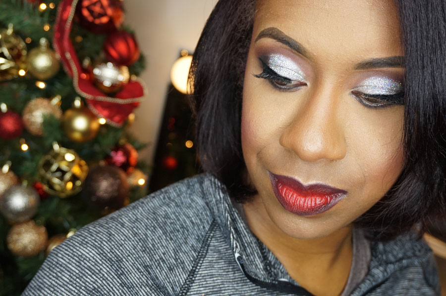Holiday Party Client Glitter Glam U2013 Makeup By Mesha
